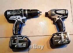 Makita 18v Cordless Combo Drill SET 3.0Ah Batteries. Drill & Impact Driver