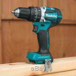 Makita 18v Cordless Combo Tool Kit 6 Tools Drill Impact Saw Sawzall Grind Light