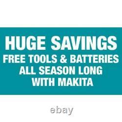 Makita 18v Cordless Combo Tool Kit Sub Compact Brushless Tools Drill Impact Set