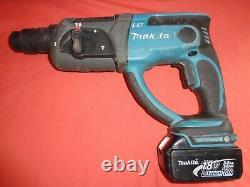 Makita 18v DHR202 3 Mode SDS Plus LXT Hammer Drill + 3Ah Battery