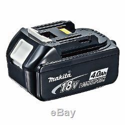 Makita 18v Dtd152 Impact Driver Bl1840 Battery Dc18rc Charger & 4 Piece Bag
