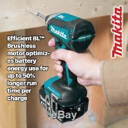 Makita 18v Lxt Brushless Cordless Hammer Drill+impact Driver Combo Kit Xt269m