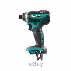 Makita 18v Xpt Dtd152 Dtd152z Impact Driver, Bl1840 Battery And Dc18rc Charger