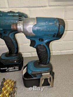 Makita 18v lxt Bhp451 Drill Set + 2 x Batteries