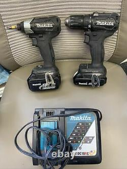 Makita 2-Tool Combo Brushless Drill Set XDT15 & XFD11 With 2 Batteries