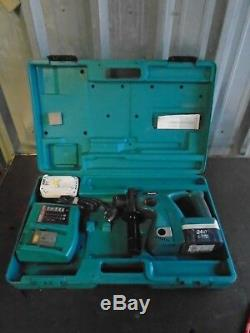Makita 24V BHR 200 Cordless Rotary Hammer Drill 2 Batteries & Charger