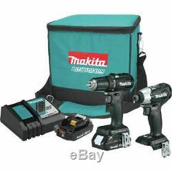 Makita 2pc Brushless 18v Drill / Impact Combo Kit Cx200rb Makita Warranty