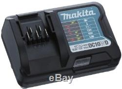 Makita 3/8 in. Drill Impact Driver Combo Kit Cordless Lithium-Ion 2-Batteries