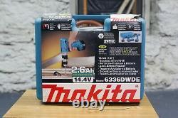 Makita 6336DWDE 14.4V Cordless Drill Set 2 Batteries Charger & Case