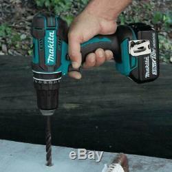Makita 7-Piece Tool Combo Kit Hammer Driver Drill 18V LXT Lithium-Ion Cordless