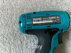 Makita 8280D & 6280D 14.4v Cordless Combi Drills, 2 Batteries, Charger And Case