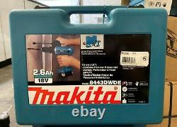 Makita 8443DWDE 18-Volt Ni-MH Cordless Hammer Drill/Driver DISCONTINUED