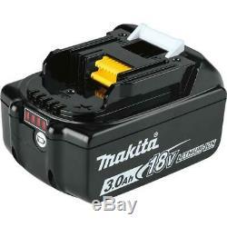 Makita 8PC Driver-Drill Saw Sander Blower Kit 18V 3.0Ah LXT Lithium-Ion Cordless