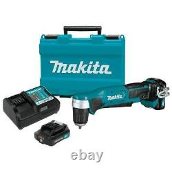 Makita AD04R1 12-Volt Max CXT 3-5/16-Inch Lithium-Ion Right Angle Drill Kit