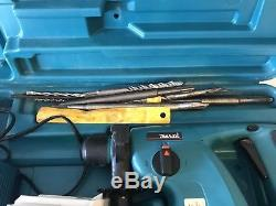 Makita BHR200 SDS 24v Cordless Drill + Battery + Case + Drill Bits + Manual