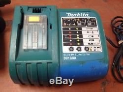 Makita BHR241 Rotary Hammer Drill with 18V Li-Ion Battery & Charger OO354