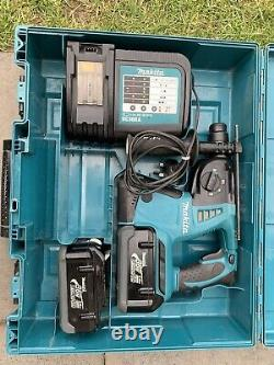 Makita BHR262 LXT Cordless 36v SDS+ Rotary Hammer Drill With 2 Batteries