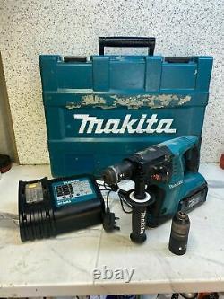 Makita Bhr261t 36v Cordless Sds+3 Mode Hammer Drill / Breaker