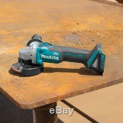 Makita Brushless 6-Piece Kit -Drill, Recipro Saw, Circular Saw, Flashlight