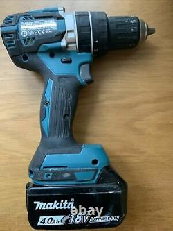 Makita Brushless DHP484Cordless Combi Drill With 4.0Ah Battery