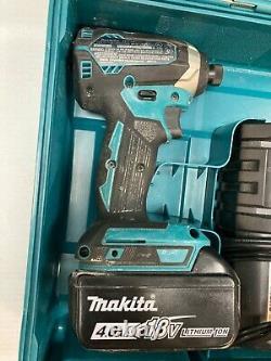 Makita Brushless Set XPH12 18V 1/2'' Cordless Hammer Drill + XDT13 Impact Driver
