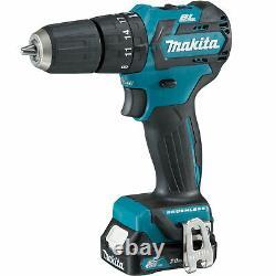 Makita CLX205AJ 12v Cordless CXT Brushless Combi Drill and Impact Driver Kit 2 x