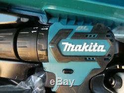 Makita CLX205AJ Brushless Drill Set 10.8v CXT Slide Twin Pack Combi Drill/Impact