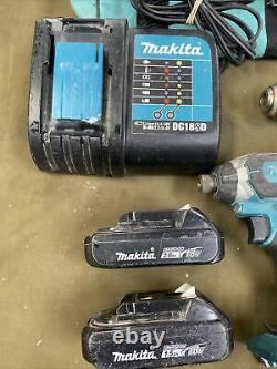 Makita (CT225SYX) 18V LXT Lithium-Ion Compact Combo Kit Drill & Impact Driver