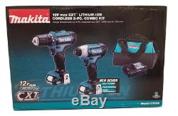 Makita CT226 12-Volt MAX CXT Lithium Ion Cordless 3/8 in. Drill/Impact Driver