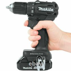 Makita CX200RB 18V Brushless Combo Kit Drill & impact Driver 2 Battery, Charger