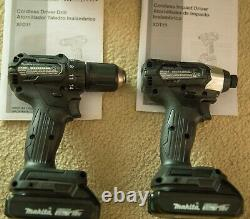 Makita CX200RB 18V LXT Sub-Compact Brushless 2-Piece driver drill XFD11 XDT15