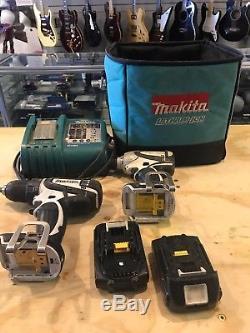 Makita Combo Kit XT269m 18V LXT Cordless Brushless Impact Hammer Drill Kit Set