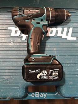Makita Cordless Drill Combo Hammer / Impact 18V lithium ion batterys