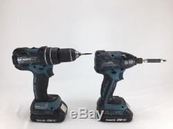 Makita Cordless Drill, Driver Combo Kit Xt257m (pb1010608)