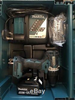 Makita DDF484Z 18v LXT Li-ion Drill Driver 2x 5.0ah Batteries/charger/case