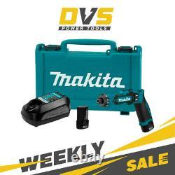 Makita DF012DSE 200RPM 7.2V Lithium-Ion Cordless Screwdrivers ScrewGun 2x 1.5Ah