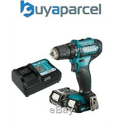 Makita DF333DWAE 12V Max CXT Drill Driver 10.8V 2 x 2.0Ah Batteries & Charger