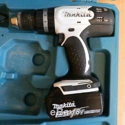 Makita DHP453 18V LXT Cordless Combi Drill with Battery and Fast Charger in Case