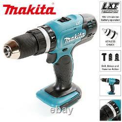 Makita DHP453Z 18V Li-ion LXT Cordless 13mm 2 Speed Combi Drill Body Only