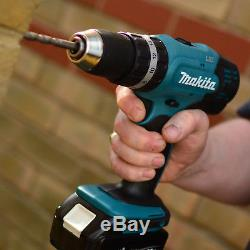 Makita DHP453Z 18v 13mm 2 Speed LXT Combi Drill With 1 x 3.0Ah Battery & Charger