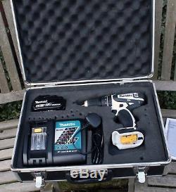 Makita DHP456 18v Li-ion Combi Drill, Charger, 4.0Ah Battery and Aluminium Case