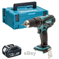 Makita DHP456Z 18V Li-ion Combi Hammer Drill with 1 x 5.0Ah Battery in Case
