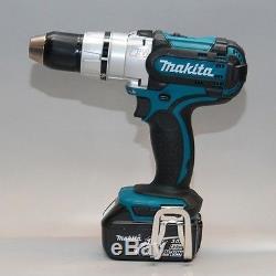 Makita DHP458 Cordless Hammer Drill+18V(3.0Ah) x 2ea Batteries Bag