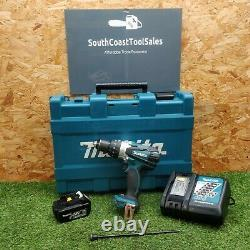 Makita DHP458 Drill 3.0 Ah battery, charger and case GWO VAT INC FREE P&P'3026