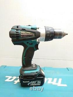Makita DHP458 LXT 18V Cordless 2-Speed Combi Hammer Drill Set