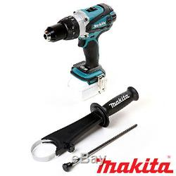 Makita DHP458Z 18V Cordless Combi Drill + 1 x 3Ah Battery, Charger, Case & Inlay