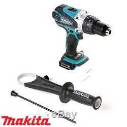 Makita DHP458Z 18V Cordless Combi Drill + 1 x 5Ah Battery, Charger, Case & Inlay
