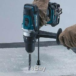 Makita DHP458Z 18V LXT Cordless Combi Drill With 1 x 3Ah BL1830 Battery, Charger