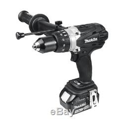 Makita DHP458Z 18v Black Combi Drill Cordless Body Only (No Batteries)