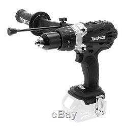 Makita DHP458ZB Black 18V LXT Cordless 2 Speed Combi Drill Body Only DHP458Z